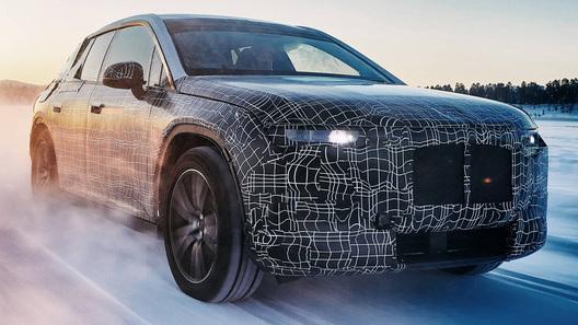 Электрокроссовер BMW iNext: битва за рекордный запас хода