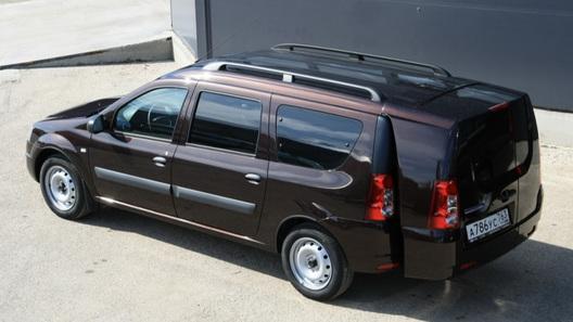Компактвэн Lada Largus получил багажник типа