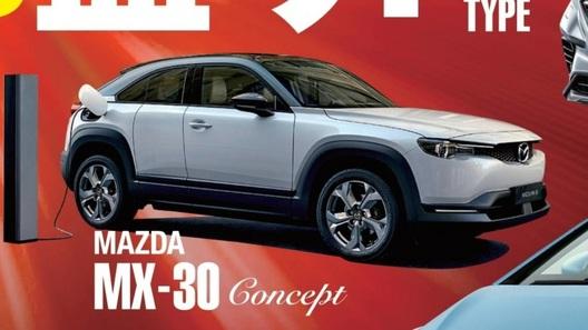 Mazda интриговала-интриговала, да не выинтриговала: вот оно, кросс-купе МХ-30!