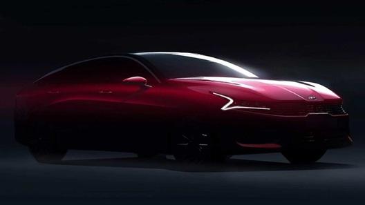 Новая Kia Optima: революционная феерия форм в первых изображениях