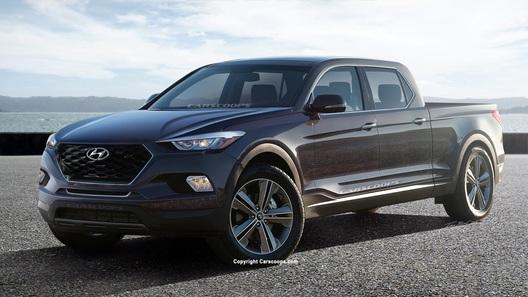 Новейший пикап Hyundai: официально названы сроки запуска