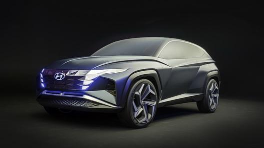 Hyundai намекнула концептомVision T на будущий Tucson