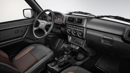 Lada 4x4 может получить фронтальную подушку позже, чем планировалось