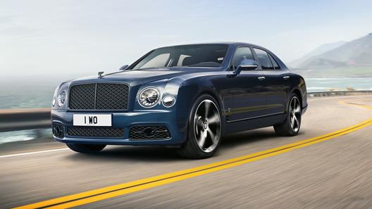 Bentley прекращает выпуск роскошного Mulsanne и легендарного мотора 6,75 л