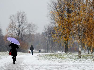 Синоптики рассказали, когда в Москве пойдет первый снег