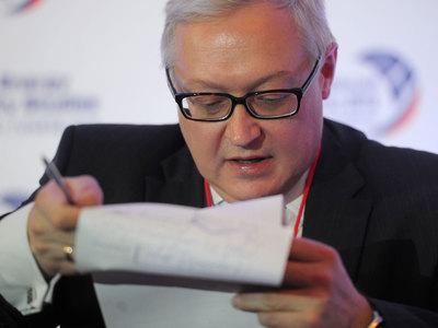 Рябков: в США близок к преступлению сам факт встречи с русскими