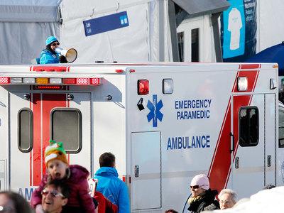 В Канаде при сходе поезда с рельсов пострадали 2 человека