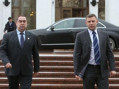 С визитом в Крым приехали главы ДНР и ЛНР