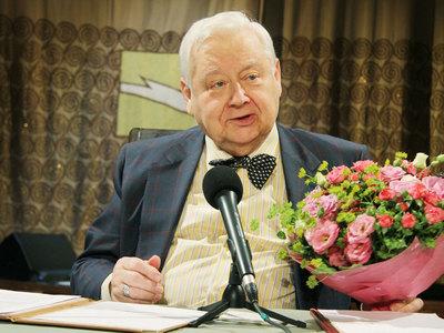 Олега Табакова госпитализировали в реанимацию
