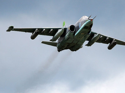 В Минобороны РФ опровергли перехват истребителями США двух Су-25 над Сирией