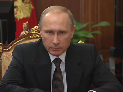 Путин поручил помочь пострадавшим от природных пожаров