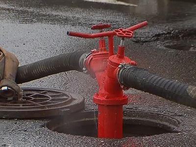 Пожар в центре Москвы: трое пострадавших