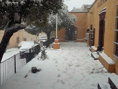 """В Мехико из-за похолодания объявили """"оранжевый"""" уровень опасности"""