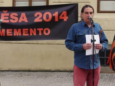 В Праге почтили память погибших в одесском Доме профсоюзов