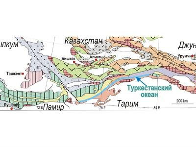 Геологи нашли океан и острова в горах