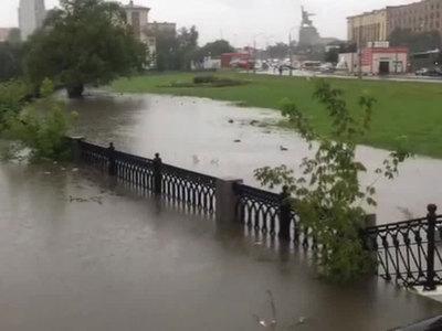 Московский ливень побил сразу три рекорда