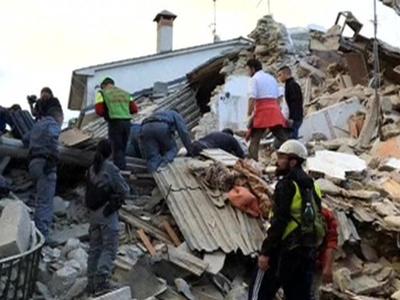 Землетрясение в Италии: число погибших возросло до 247 человек
