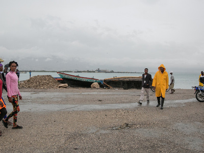 """Количество погибших от урагана """"Мэттью"""" в Гаити возросло до девяти человек"""