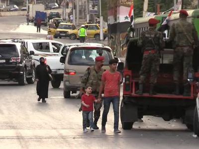 В Алеппо ранены трое российских офицеров