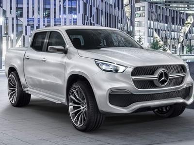 Новый пикап Mercedes-Benz будет выпущен в модификации AMG