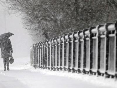 В Москву идут снегопады и потепление