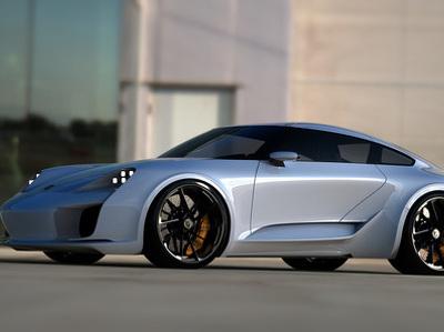 Российский дизайнер нарисовал новый Porsche 911