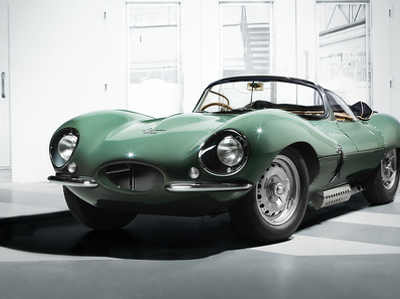 В Jaguar заново построили легендарный суперкар из 50-х