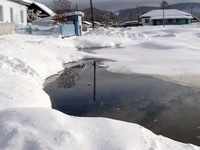 В Бурятии река затопила целое село