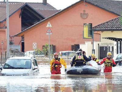 В Италии непогода унесла жизни 2 пожилых людей