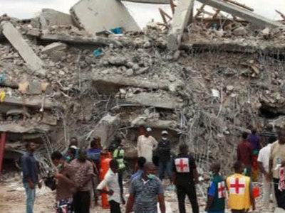 Обрушение церкви в Нигерии: до 200 погибших