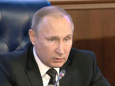 Путин дал новые звания генералам за Сирию