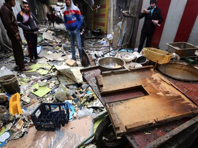 На юге Багдада прогремели взрывы