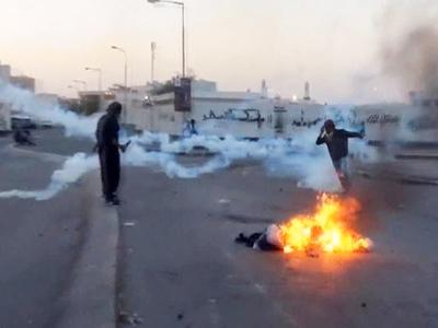 В Бахрейне начались массовые беспорядки