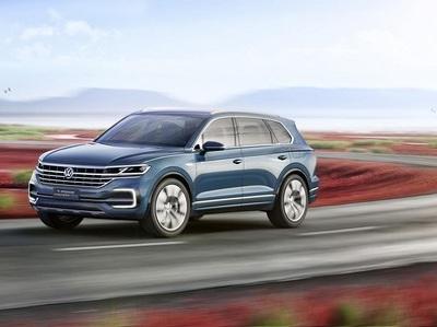 VW готовит к выходу третье поколение Touareg с оригинальным двигателем
