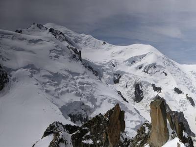 На Монблане найдено тело погибшего украинского альпиниста