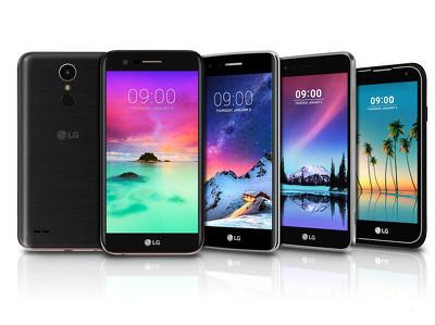 LG представила в России бюджетные смартфоны с интересным дизайном