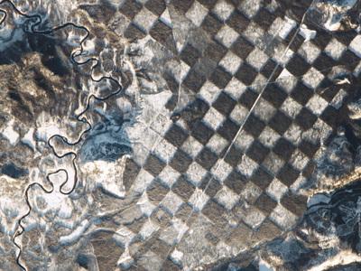 В Айдахо нашли природную шахматную доску
