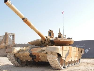 Россия поставит крупную партию танков на Ближний Восток