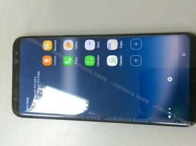 Опубликованы первые фото работающего Galaxy S8