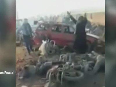 Эль-Баб: вторым взрывом убило восемь человек