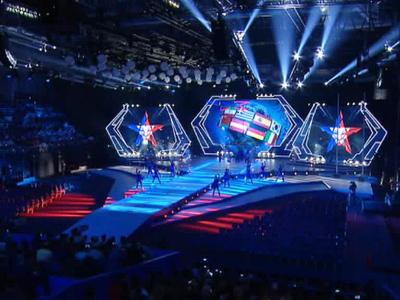В Сочи открылись третьи зимние Всемирные военные Игры
