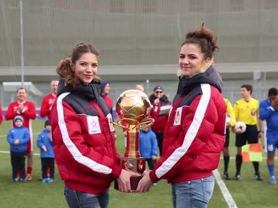 Команда SOCHI2017 обыграла сборную мира в товарищеском футбольном матче