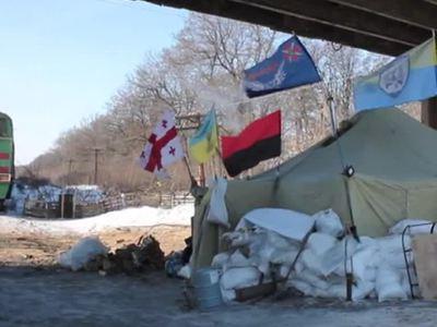 Украинские радикалы заблокировали железнодорожное сообщение с Россией