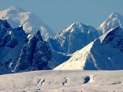 При глобальном потеплении снег в горах будет таять медленнее
