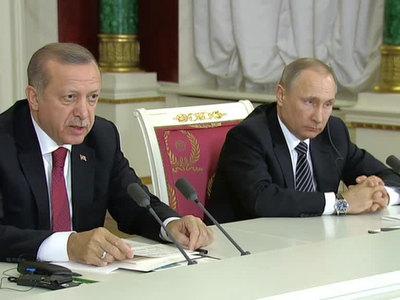 Эрдоган позвал Путина в Стамбул