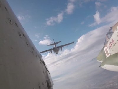Российские штурмовики перебазированы с авиабазы Кант
