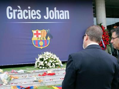 """Памятник Йохану Круиффу поставят возле стадиона """"Барселоны"""""""