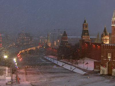 Москву ждет небольшое потепление и снегопад