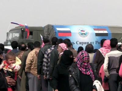 Все больше сирийцев убеждаются: Россия пришла не завоевывать, а помогать