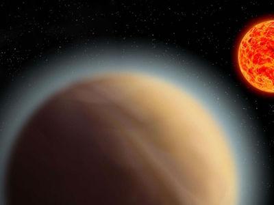 Вокруг землеподобной экзопланеты впервые обнаружена атмосфера